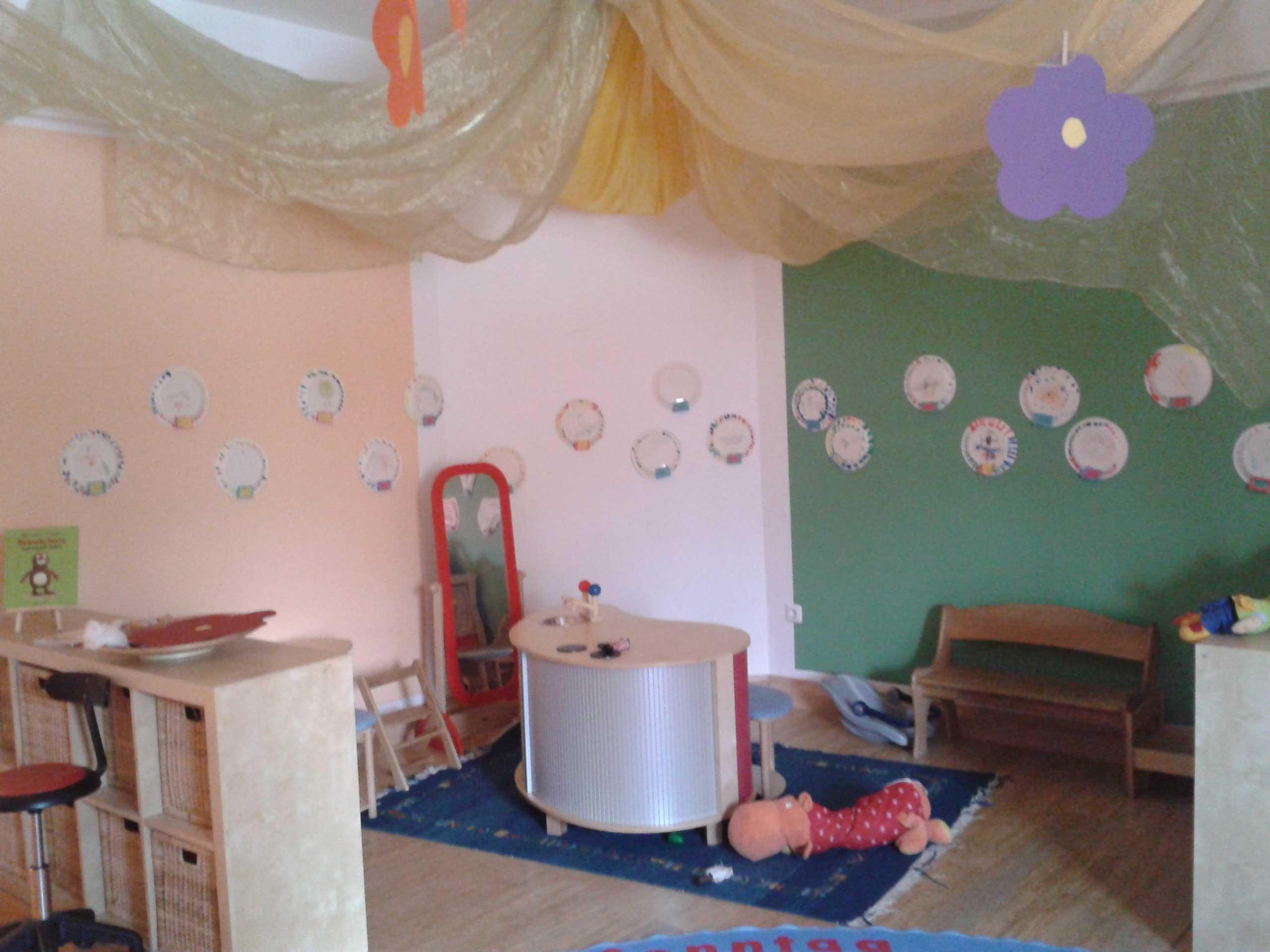 Wandgestaltung Im Kindergarten Zimmerleins Welt
